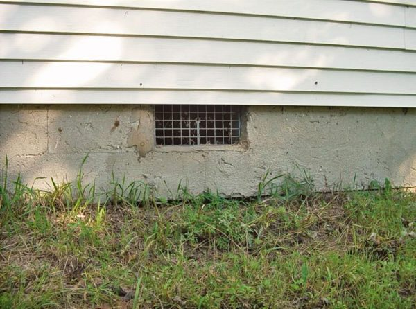 Taking The Vents Out Of Vented Crawl Spaces Advanced Energy